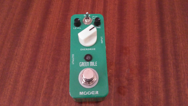 "VENDO O CAMBIO ""Mooer Green Mile"""