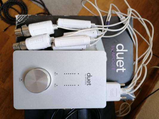 Apogee Duet Firewire 400 (cable 400-800) incluido