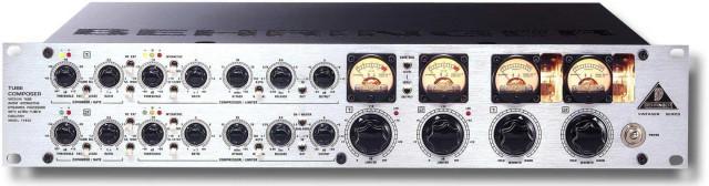 Compresor Stereo a válvulas  Behringer T1952 Tube Compressor