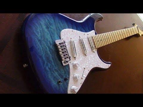 Guitarra con Sustainer y puente flotante