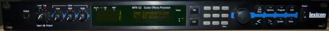 Lexicon MPX G2 + Controladora Midi Lexicon MPX R1