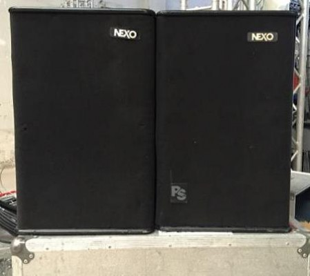 Sistema  Nexo 4 ps 15 con cases  + rack procesador utd y etapa