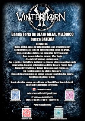 Banda seria DEATH METAL MELÓDICO busca BATERÍA