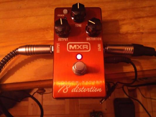MXR 78 custom badass distorision
