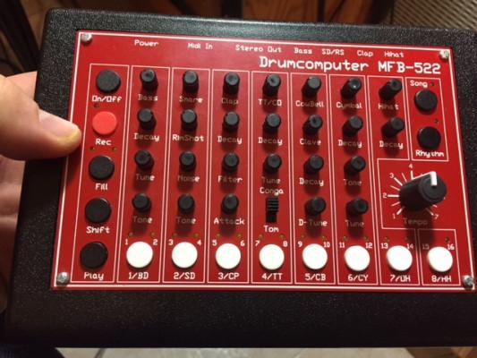MFB 522 Drumcomputer