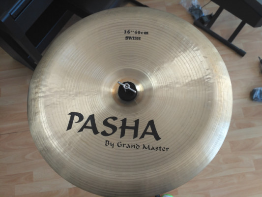 "Plato PASHA CYMBALS 16"" China Swish"