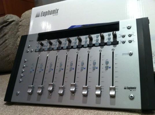 vendido-euphonix mc mix como nueva`acepto apogee duet 2 o guitarra elec.