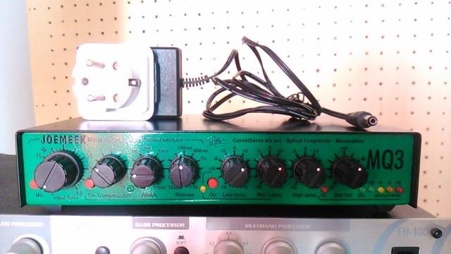 Previo Ecualizador Compresor Joemeek MQ3