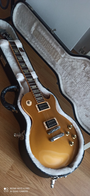 Gibson les Paul gold top