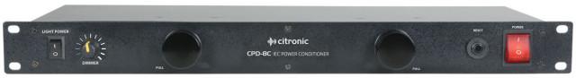 Acondicionador de corriente - Citronic CPD-8C (A Estrenar)