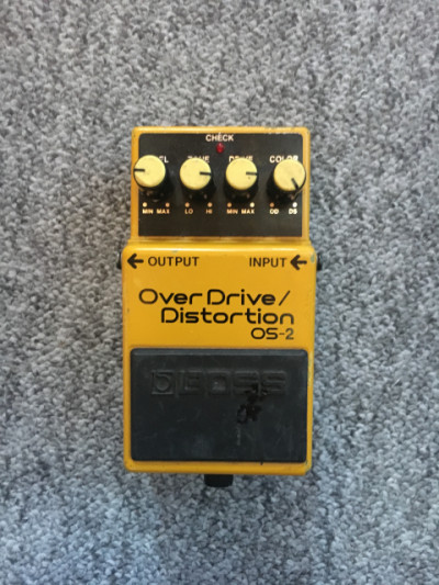 Pedal Boss Overdrive/Distortion