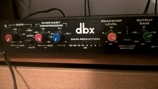 compresor dbx 166  modificado (revive)