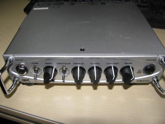 Gallien Krueger MB-200 (micro bass head)