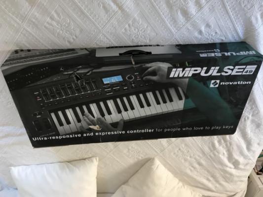Novation Impulse 49 (Teclado controlador MIDI)