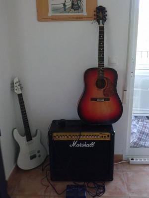 Ampli de Amplificador de guitarra Marshall MG100 DFX