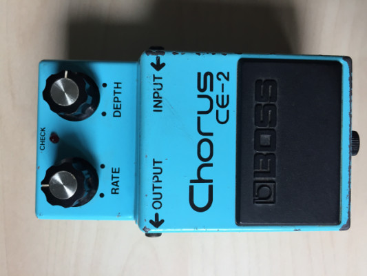"Boss CE-2 Chorus. MIJ ""Long dash"""