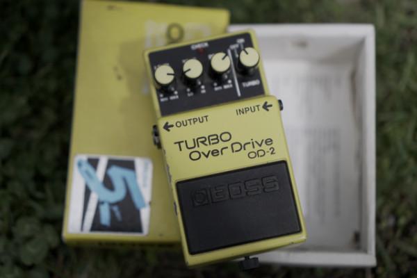 Boss OD-2 Turbo OverDrive 1987