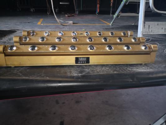 barras de 8 ojos moviles de 8 w led
