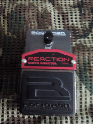 + PEDAL ROCKTRON BOOSTER +