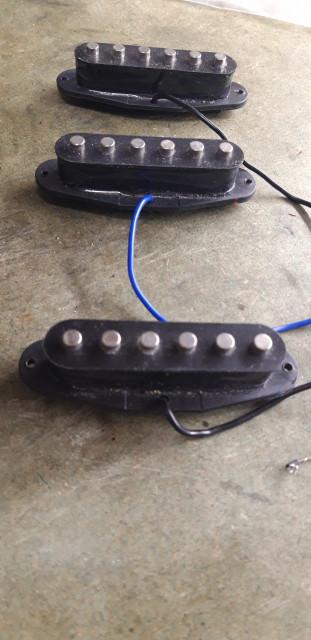 Pastillas Squier Stratocaster