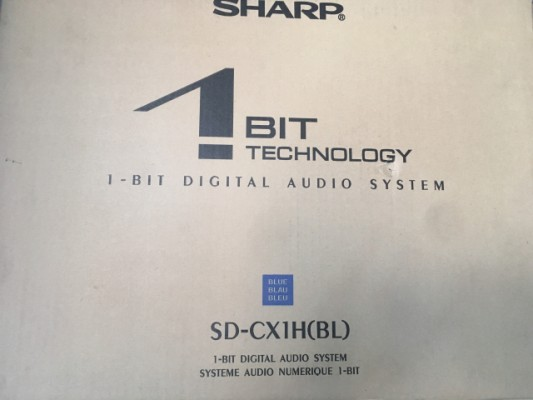 minidisc Sharp sd-cx1h