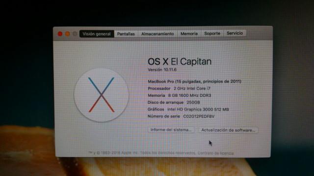 "Macbook Pro 15"" quad core i7"