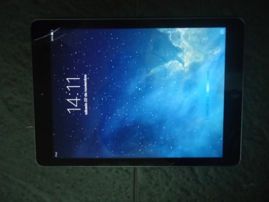 iPad Air 16Gb con funda negra nueva smart case original Apple piel