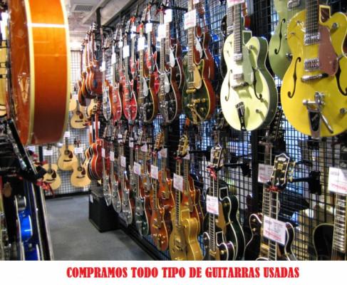 Compramos guitarras usadas
