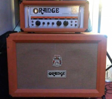 Orange OR80 Overdrive+pantalla orange 2x12