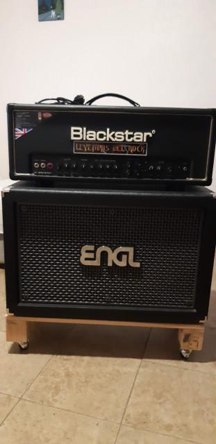 Blackstar HT 100 Venue Head + ENGL 212 vh Pro