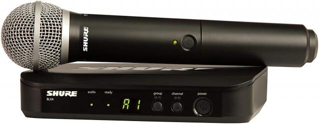 Micrófono inalámbrico Shure BLX 24 / PG 58