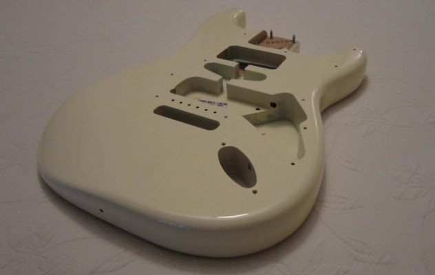Cuerpo Fender Stratocaster American Special Olympic White