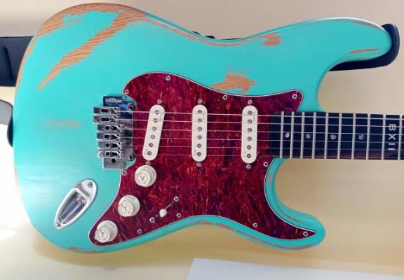 Strato de Luthier Esteban Maxera Hard Relic
