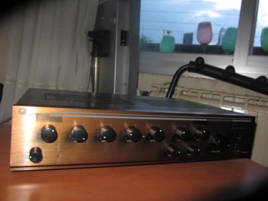 Vendo amplificador microfonia megafonia Optimus