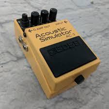 Pedal simulador acústica de BOSS. Acoustic simulator AC-3c