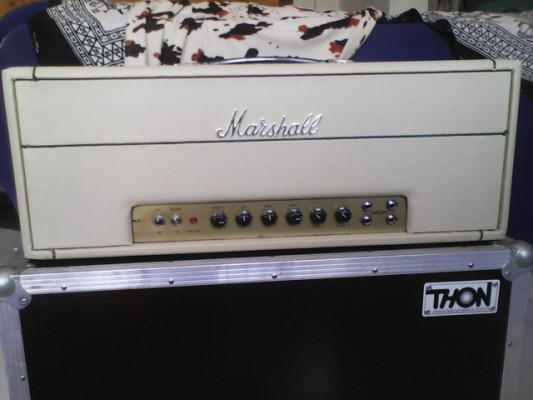 Marshall Plexi Superbass (guitar) del año 1968. NºSerie 12000