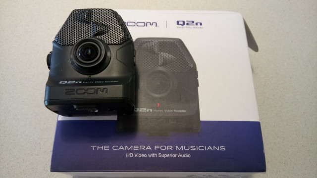 Zoom Q2N, grabadora audio video