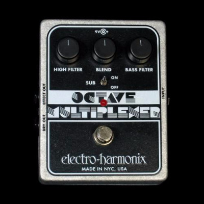 octave multiplexer electro harmonix
