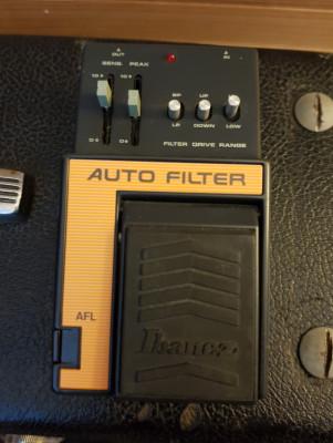 Pedal Ibanez AFL autofilter analógico 80s.