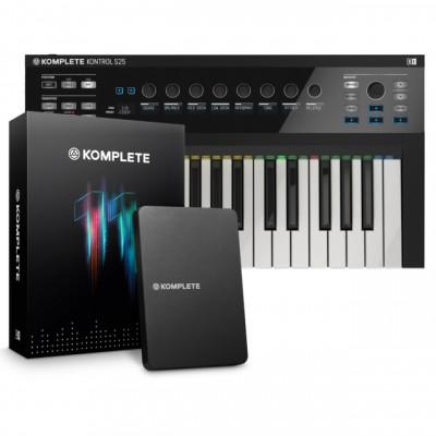 Native Instruments Komplete 11 y teclado S25