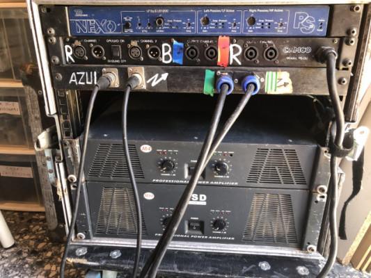 Oferta - Rack+ Etapa HSD M10 + HSD M4 + paneles conexiones
