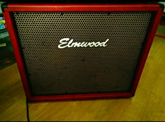 Pantalla Elmwood 2x12 Horizontal Roja