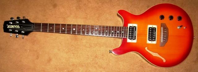 Guitarra Hamer DuoTone