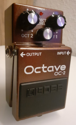 "Boss OC2 Octave Made In Japan ""Black Label"""