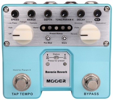 Moeer Reverie Reverb /Cambio porTC Electronic Helix Phaser