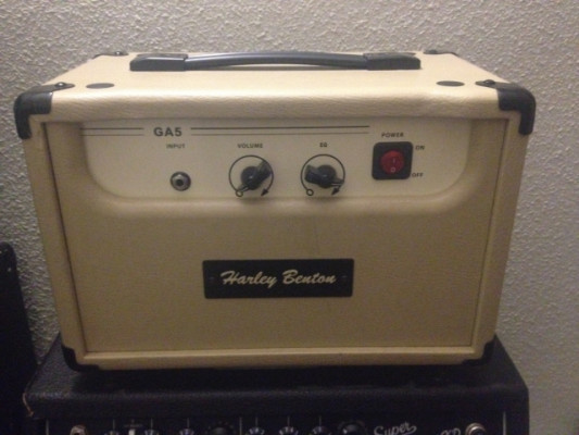 Harley benton ga5 modificado