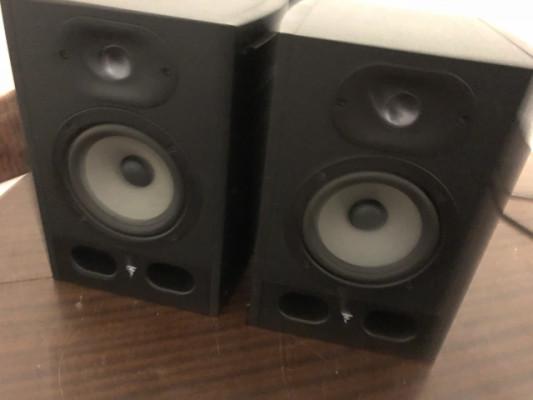 Vendo pareja de monitores focal alpha 50