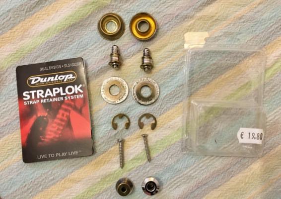 Vendo Straplock Dunlop y Schaller.