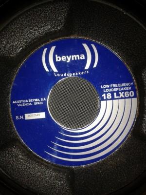 Beyma 18 LX60 (para reconar)