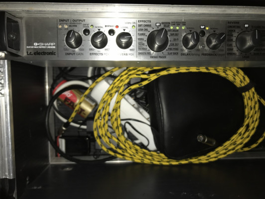 Multi Efectos Midi Tc Electronic GSharp